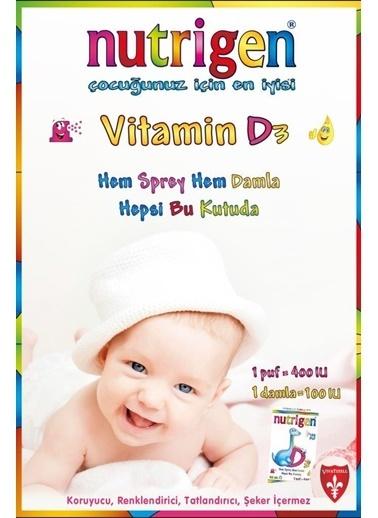 Nutrigen Nutrigen Vitamin D3 400'lü 20 Ml Damla / Sprey 150 Puf Renksiz